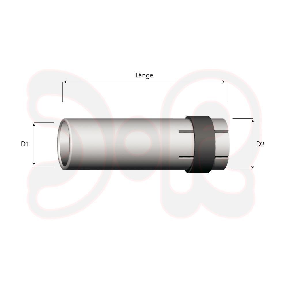 135A Vergl.Nr.: 5142048 Länge 95 mm Durchmesser 20//25 New Holland Bolzen
