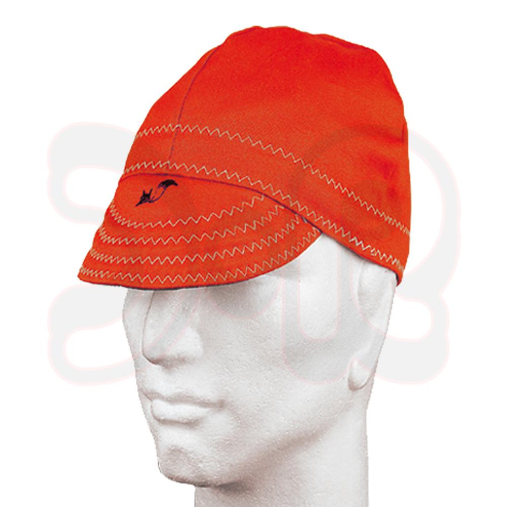 WELDAS Schweißerhaube Schweißhaube Kopfhaube Mütze flammenhemmend FireFox NEU